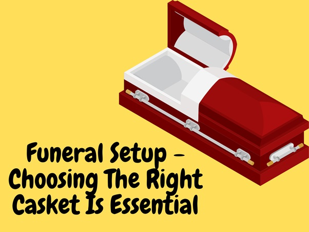 Funeral Setup – Choosing The Right Casket Is Essential
