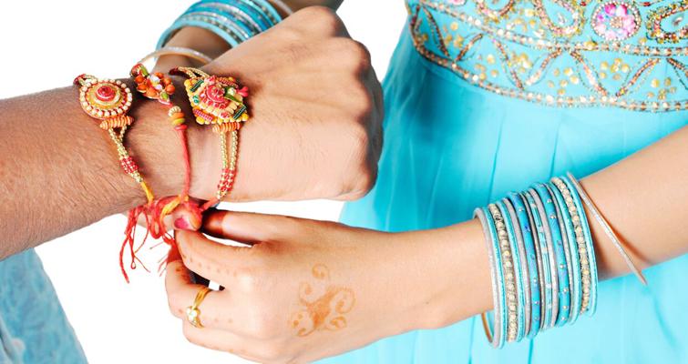 Changing Ways of Sending Rakhi