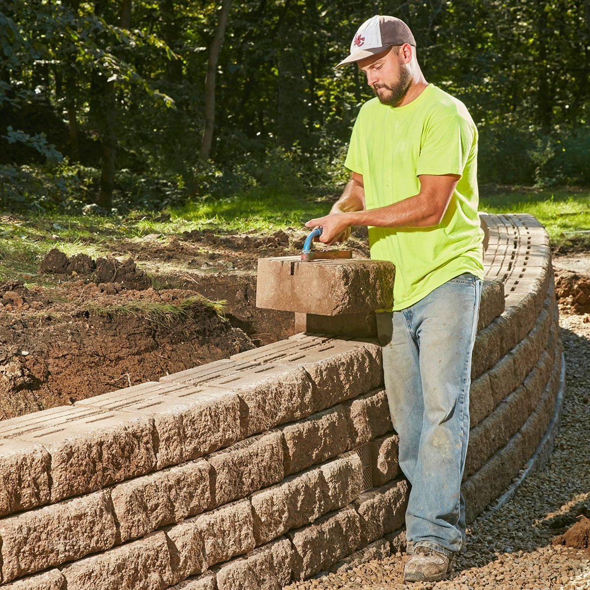 Building Retaining Walls that Are Sturdy