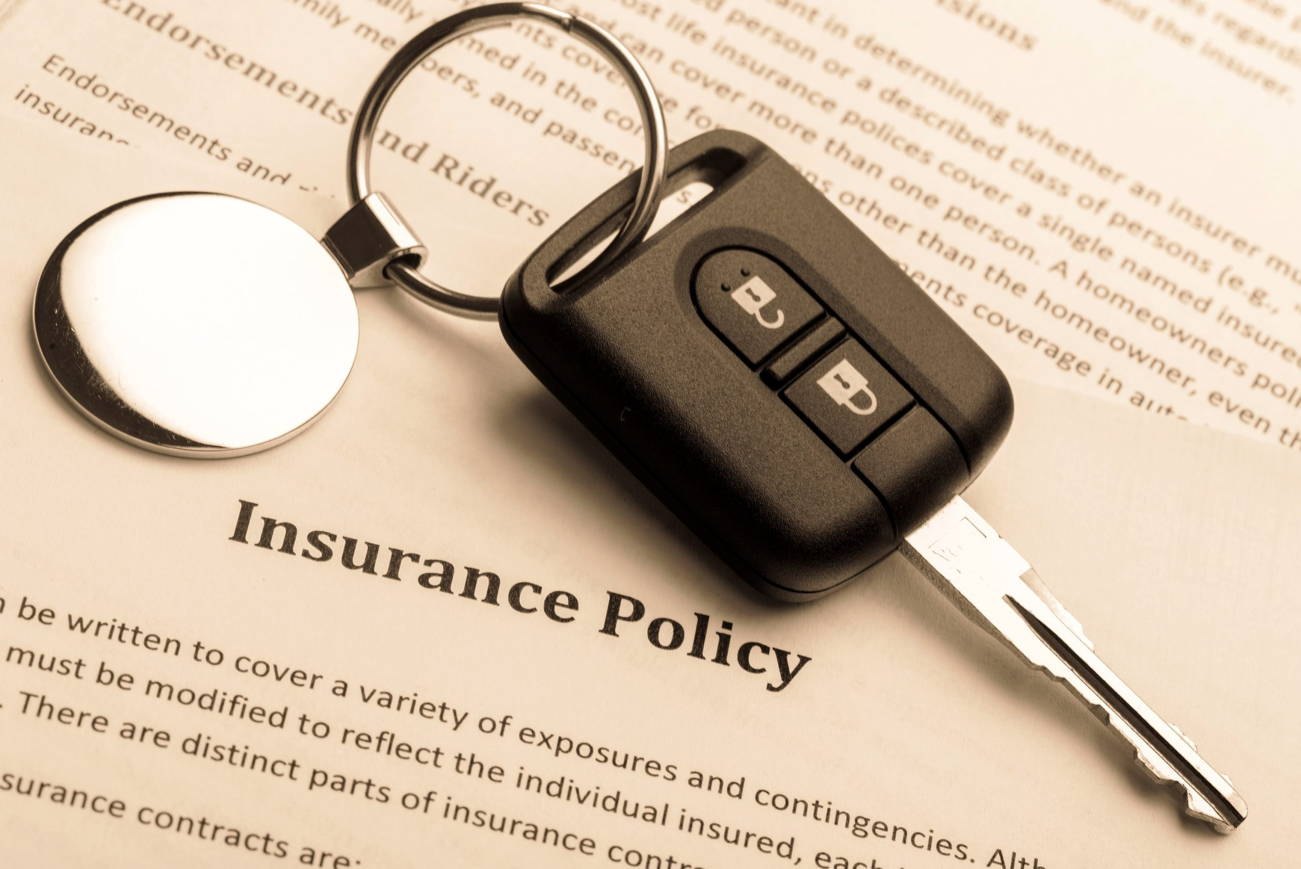Factors affecting auto insurance rate
