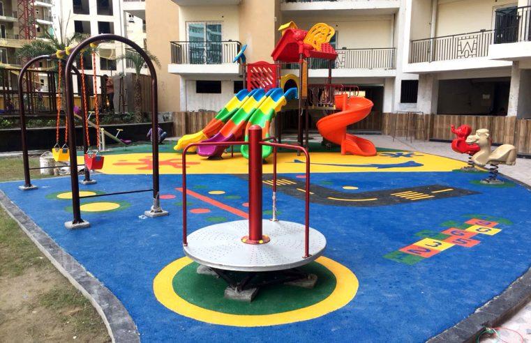 Outdoor Play Equipments can help children