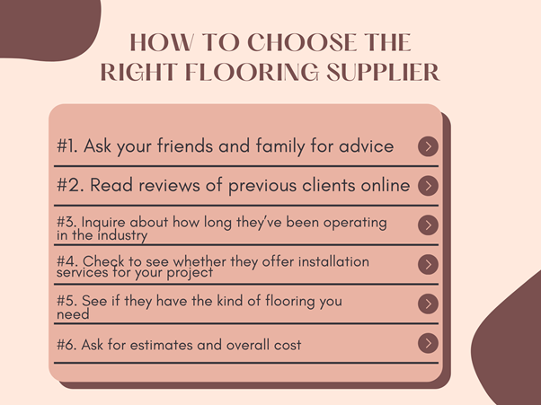 Your Guide Choosing The Right Flooring Supplier And Floor Type