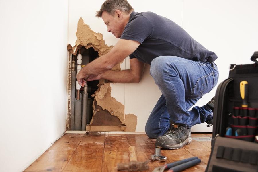 Companies involving residential water damage restoration