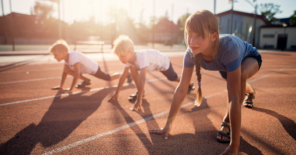 Importance of physical exercise among children: