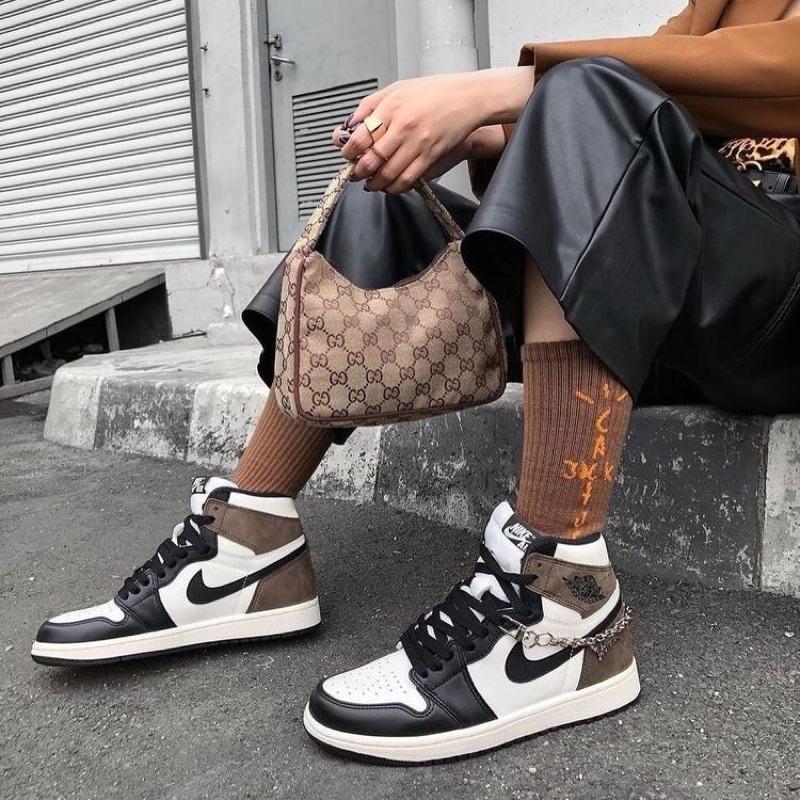Jordan 1 Dark Mocha Shoes – Addictive Jordan 1 Coffee